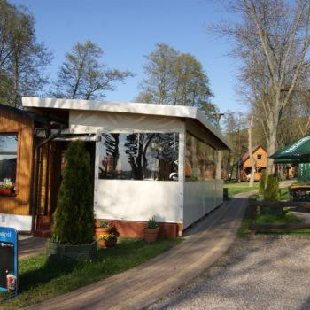 Ośrodek wypoczynkowy na Kaszubach - domki Bachus Chmielno