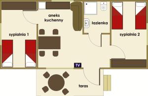Bachus Ośrodek Kaszuby - domek 4-osobowy